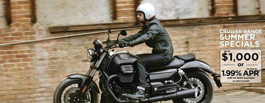 Moto Guzzi - Summer is here! Unprecedented offers on select Cruisers!